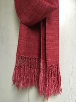 Hand Woven Silky Merino Raspberries & Cream